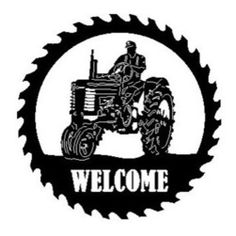 1275 best plasma steel projects images in 2019 metal signs plasma 36 Inch Vanity with Sink john deere tractor sawblade with man wel e sign this listing is for one sawblade that