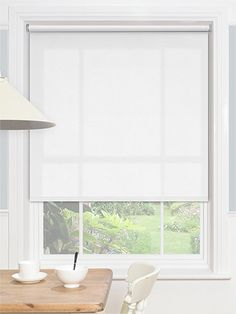 Mirage Dream White Roller Blind from Blinds 2go