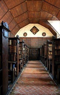 The Upper Library, Merton College, Oxford photo  via rm The oldest academic library in the world cira 1373