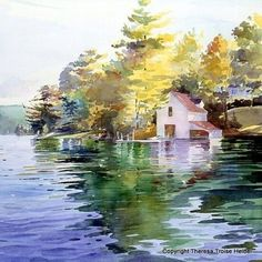 Theresa Elizabeth Troise #watercolor #painting