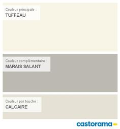 Castorama Nuancier Peinture - Mon harmonie Peinture  TUFFEAU satin de COLOURS Collection Interior Paint Colors, Home Staging, Pantone, Sweet Home, Beige, Inspiration, Claire, Condo, Home Decor