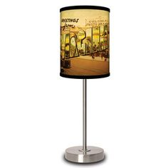 Virginia Postcard Lamp, $29.95, now featured on Fab.