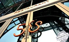 Champagne dinner for 2 at 58 Tour Eiffel
