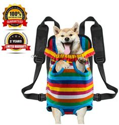 Legs tail out Dog Carrier Travel Pet Bag Backpack Front-facing Sturdy Comfortable Easy-Fit for Traveling Hiking Bike and Motorcycle * Details can be found by clicking on the image. (This is an affiliate link and I receive a commission for the sales) Hiking Backpack, Backpack Bags, Rare Dogs, Pet Bag, Dog Store, Dog Travel, Dog Carrier, Pet Carriers, Dog Accessories