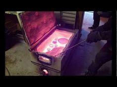 "Cuisson Poteries Raku dans un ""four frigo"". Conception Charles Duluc - YouTube"
