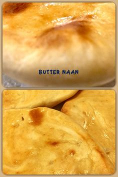 Butter Naan is a leavened, oven-baked flatbread, baked in a tandoor or in an oven. It's made from basic bread ingredients like wheat flour, yeast, salt, and butter or ghee. #naan #butternaan #butter #vegetarian #recipe #homemade #yummy #delicious #tasty #baked #homebaked #bread #indianbread #indianfood Bread Ingredients, Naan, Oven Baked, Indian Food Recipes, Breads, Butter, Vegetarian, Tasty, Homemade