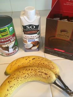 Seriously delicious Whole 30 coffee!!  My biggest challenge was the agave and milk I love in my coffee. I tried the coconut milk and cinnamon (only option) and its good, but I still felt deprived, until I found this! In your nutribullet, or blender, mix up super ripe bananas and coconut milk and pour into ice cube trays. Pop those out of the trays, and blend with a little water and a packet of Javita Burn and Control coffee. Amazing! #whole30coffee