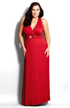 5 Beautiful Plus Size Evening Gowns & Dresses For Fall 2015