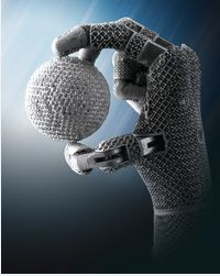 3d printed prosthetic hand   For those of you who recognize this, let's just hope it doesn't go ...