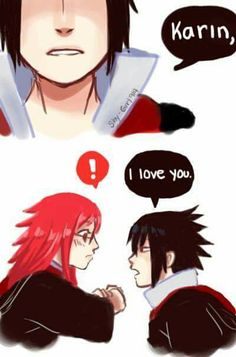?Imagenes,FanArt y cosas de la Ship SasuKarin! Pliss si no te gusta … #detodo # De Todo # amreading # books # wattpad Naruto Anime, Naruto Shippuden Sasuke, Manga Anime, Karin Uzumaki, Neji And Tenten, Naruto Family, Pretty Cool, Anime Couples, Otp