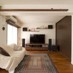 Y邸・自分たちの「好き」をカタチにした住まいの部屋 リビング