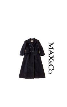 67a1bca804f93e Max&Co. by Max Mara Cappotto vintage 90s in pura lana vergine e mohair  Taglia 40 - 42 di Isognidellefate su Etsy