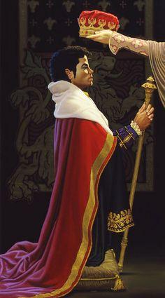 Michael Jackson King of Pop Michael Jackson Painting, Pics, Caricature, Artist, King, Fan Art