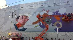 Street Art Milano: spettacolo in via Torino sotto gli occhi dei passanti