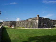 Castillo de San Marcos, St Augustine, FL.  Oldest continuously inhabited city in the USA.