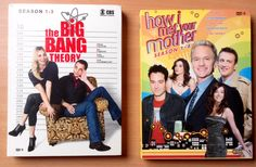 HIMYM - Big bang theory 10 €le DVD 15€ le lot
