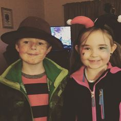 Little Zac and Jaydn stopped by to trick or treat!