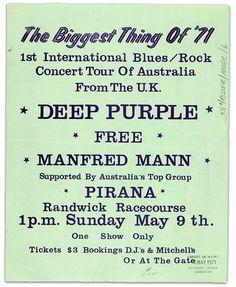 === Deep Purple Tour Page === concert date