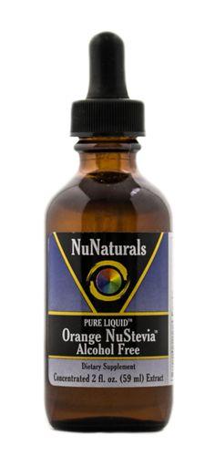 Orange NuStevia® Alcohol Free 2 oz Stevia Extract