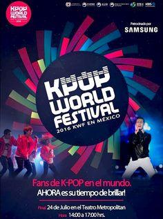 Gana un pase doble para el Kpop World Festival México 2016 https://www.facebook.com/events/306238479721214/ http://www.corea.moda/2016/07/gana-un-pase-doble-para-el-kpop-world-festival-mexico-2016.html #Kpop #KpopWorldFestival2016 #México #Hallyu #KoreaLover #Korea #Corea