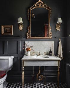 House of Brinson One Room Challenge Bathroom 3 Modern Small Bathroom Ideas - Great Bathroom Renovati Gorgeous Bathroom, Diy Bathroom Decor, Bathroom Interior, Decor Interior Design, Interior, Beautiful Bathrooms, Bathroom Interior Design, House Interior, Bathroom Design