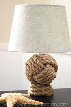 Pottery Barn Lamp Knockoff tutorial