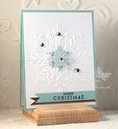 Flurry Of Wishes , Winter Wonder Embossing Folder