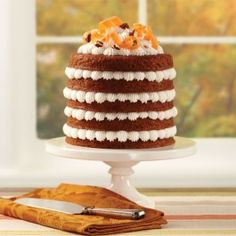 Wilton Five Layer Carrot Cake