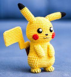 Amigurumi: Pikachu aus Pokémon zum Häkeln - Häkelanleitung via Makerist.de