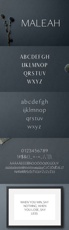 Maleah Sans Serif 2 #Font Family Pack by CreativeWhoa on @creativemarket #creative
