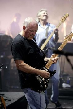 David Gilmour e Roger Waters: