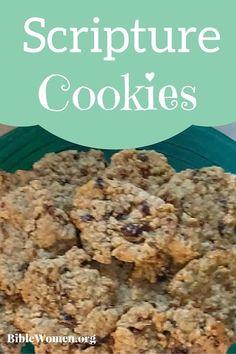 Scripture Cookies       Great way to teach your kids scripture!