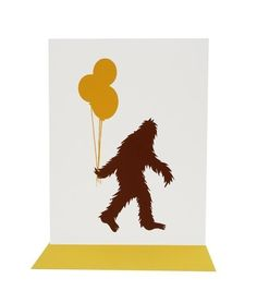 Happy Birthday from your neighborhood Sasquatch:)
