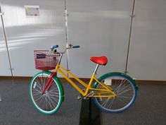 One of the many bikes Googlers can use.