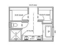 Master Bathroom Layout - Bing Images