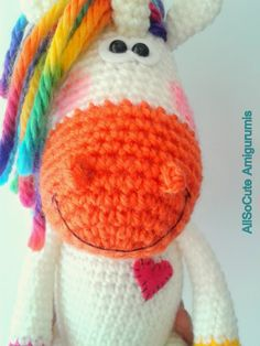 AllSoCute Amigurumis  Pattern available for purchase