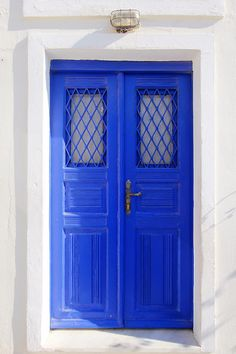 The Blue Door - Oia, Santorini