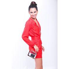 Imagem 07 Red Leather, Leather Jacket, Jackets, Fashion, Outfits, Studded Leather Jacket, Down Jackets, Moda, Leather Jackets