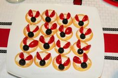 Appetizers at a Ladybug Party #ladybug #partyappetizers