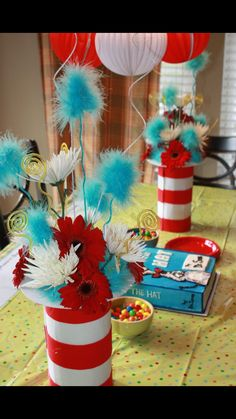 Attractive Seuss Baby Shower For Thing 1