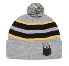 3325a7ca52e743 Bearded Missouri Black/Heather/Gold Beanie Missouri, Beanie, Fabric, Hats,