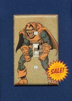 Super Villain Light Switch Plate  Hobgoblin by IntergalacticDesign, $9.95