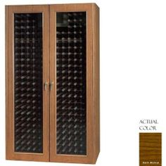 Vinotemp Vino-700g-dkwa 440 Bottle Wine Cellar - Glass Doors / Dark Walnut Cabinet by Vinotemp. $4459.00. Vinotemp VINO-700G-DKWA 440 Bottle Wine Cellar - Glass Doors / Dark Walnut Cabinet. VINO-700G-DKWA. Wine Cellars. The Vinotemp 700G features two attractive double-paned thermal glass doors and digital temperature control for easy temperature adjusting. It comes standard with a Wine-Mate cooling system, which is engineered for efficient operation and uses enviro...