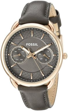 Fossil Tailor Multifunction Leather Watch *** To view further for this watch, visit the image link.