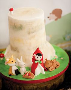 Woodland Creatures & Little Red Riding Hood Birthday Party
