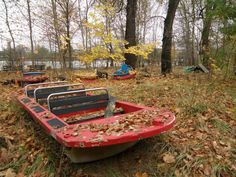 Spreepark - abandoned boats