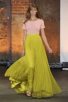 Color combo - Christian Siriano S/S '12