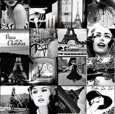 Its 'International Womens Day 2013' which was created originally at the start of the 20th century as women's inequality was spurring women to become more vocal and active in campaigning for change.    Its now also a a global day of recognition and celebration of women everywhere.  I love this vintage collage celebrating French womens style :-)