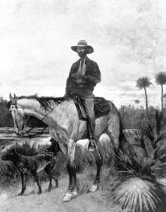 "A cracker cowboy artist: Frederick Remington In Florida, those who own or work cattle traditionally have been called cowmen. In the late 1800s, they were often called cow hunters, a reference to hunting for cattle scattered over the wooded rangelands during roundups. At times the terms cowman and Cracker have been used interchangeably because of similarities in their folk culture. Today the western term ""cowboy"" is"