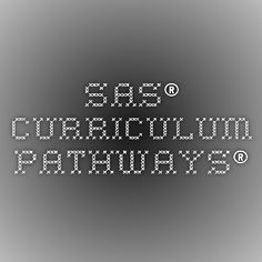 SAS® Curriculum Pathways®